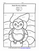 Mystery Picture Worksheets The Hippest Math Mystery Picture Worksheets Image Search Results Halloween Addition And Subtraction Worksheets Halloween Hidden Picture Math Worksheets Activity Shelter