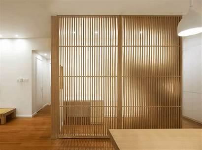 Wood Screen Tsutsumi Associates China Louvered Louver