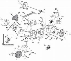 Power Wheels Dream Carriage Parts