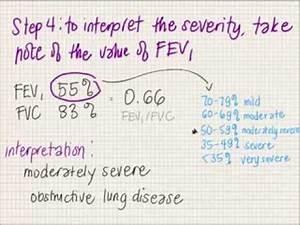 Fev1 Fvc Interpretation Youtube