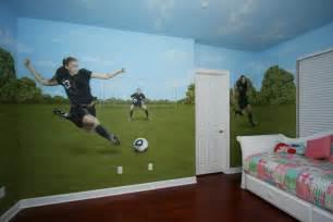 soccer bedroom decor laurensthoughts