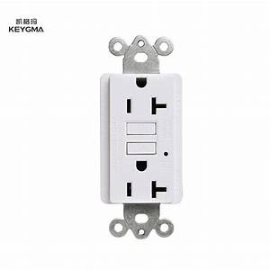 Keygma Gfci Outlet 220v 20amp Receptacle With Test And