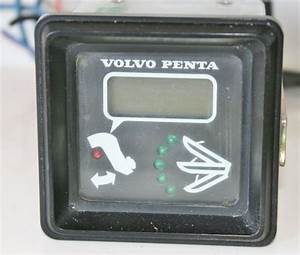 Find Used Volvo Penta 828731 Electric Tilt Trim Indicator Gauge Square Tested Good Motorcycle In