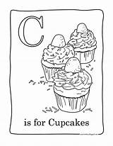 Coloring Cupcake Pages Cupcakes Printable Facile Birthday Cup Cakes Cake Adult Colouring Candy Easy Cartoon Sweet Adults Coloriage Read sketch template