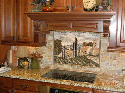 tuscany country tile mural traditional cincinnati by
