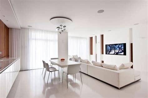 white kitchen diner lounge interior design ideas
