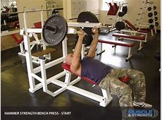 Hammer Strength Bench Press Video Exercise Guide & Tips