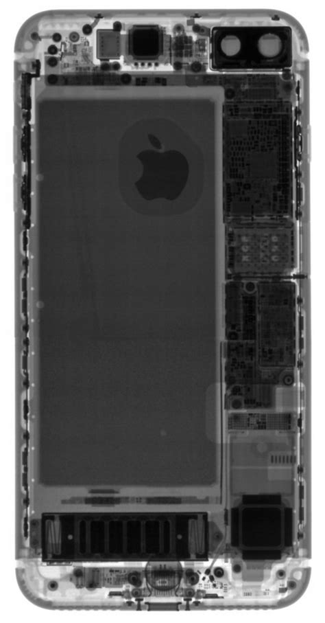 iPhone 7 Plus teardown: 3GB of RAM, faux speaker grille