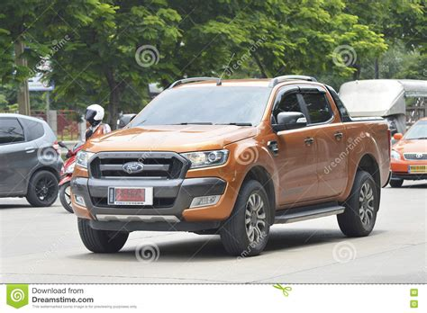 ranger road vehicle car ford ranger 2016 editorial image cartoondealer 74794206