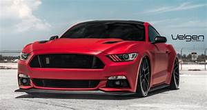 Stunning Matte Red S550 Ford Mustang GT Video | HOT CARS