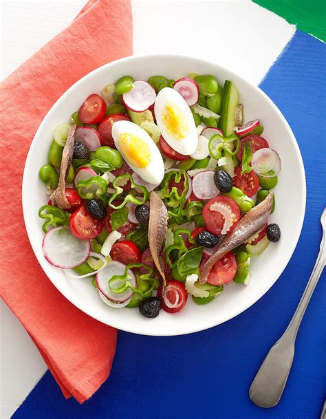 salade niçoise pour 4 personnes recettes à table