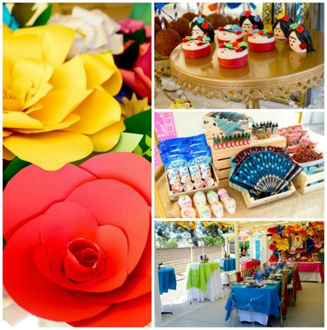Frida Kahlo Inspired Mexican Theme Party  Smart Party