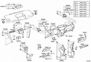 2007 Toyota Yaris Instrument Panel Trim Panel  Gray  Body