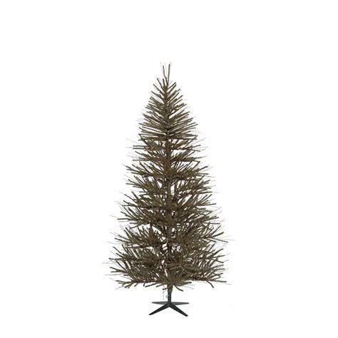 shop vickerman 5 ft indoor vienna twig christmas tree