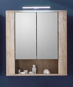 Armoire De Toilette But : armoire de toilette contemporaine avec clairage ch ne ~ Dailycaller-alerts.com Idées de Décoration