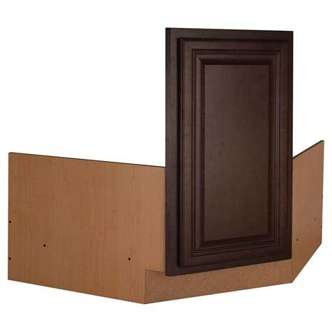raising kitchen base cabinets hton bay shaker assembled 36x34 5x24 in blind base