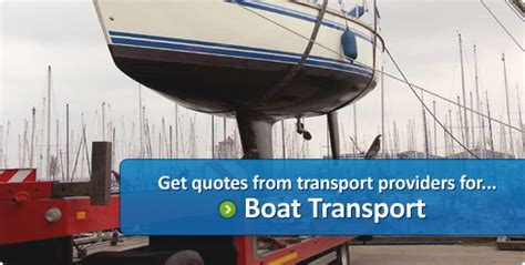 Boat Shipping Quotes by Shipping Transport Freight Quote Price Cost