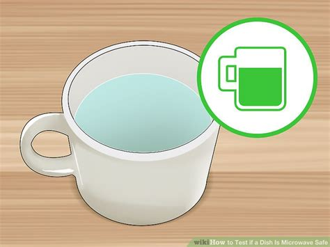 is it safe to put a microwave in a cabinet how to test if a dish is microwave safe 13 steps with