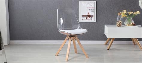 chaise polycarbonate transparente chaises transparentes design
