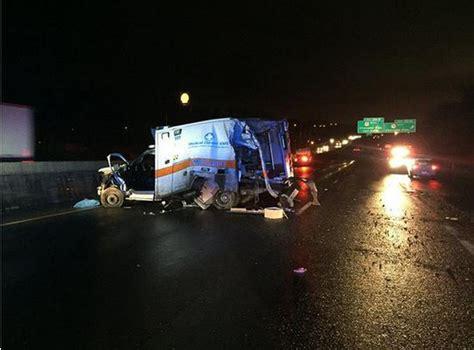 medic patient ejected  ambulance crash
