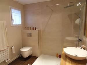 belle decoration wc et salle de bain With salle de bain avec wc