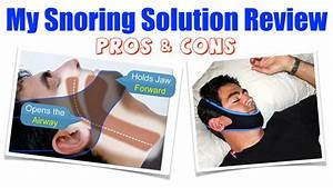My Snoring Solution Review - Pros  U0026 Cons