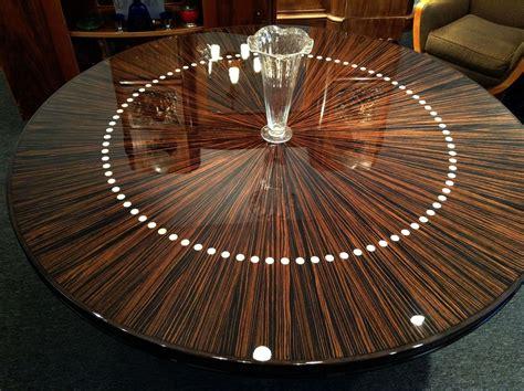 Handmade Custom Round French Modernist Dining Or Entry
