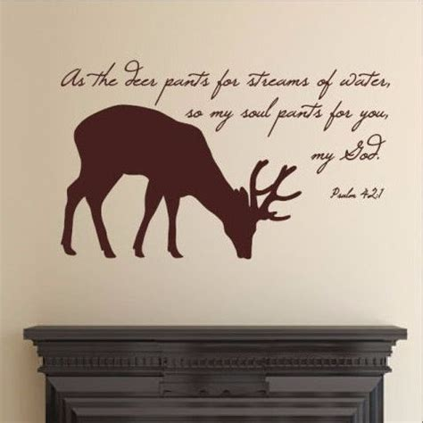 deer bible verse decal 22523 vinyls coloring books and deer