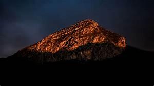 Download, Wallpaper, 2560x1440, Mountain, Peak, Shadow, Twilight, Dark, Widescreen, 16, 9, Hd, Background