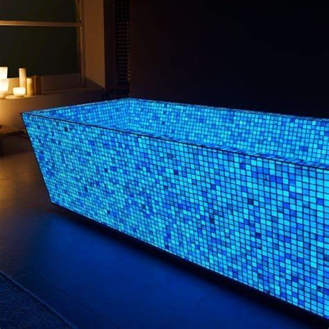 Glow In The Pool Tile by Glow In The Tile Glow In The