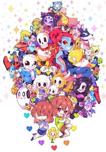 Cast And Crew Of Halloween 6 by Too Many Characters In Undertale Undertale Pinterest