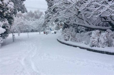 snow falls in queensland