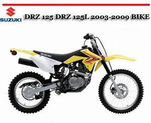 Suzuki Drz 125 Drz 125l 2003