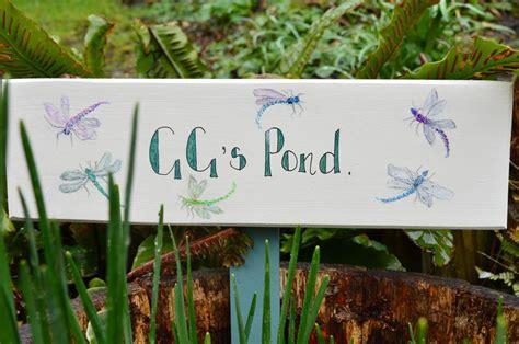 Pond Sign By Okey Dokey Notonthehighstreetcom