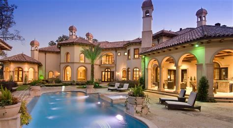 Stunning Mediterranean Mansion In Houston, Tx Built By