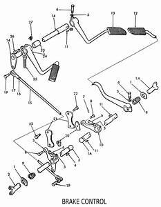 Ford 8n Brake Control  U0026 Related