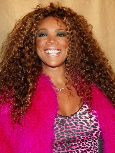Long Kinky Curly Wendy Williams Wigs Without Bangsafrican