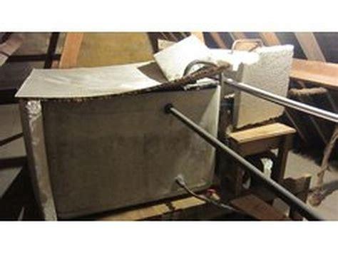 replace cold water tank  header tank plumbing job