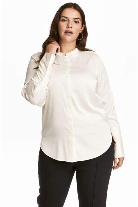 h m blouses h m satin blouse white sale h m us