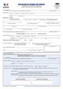 Declaration D Achat Vehicule A Remplir En Ligne : cerfa 13754 02 en notice manuel d 39 utilisation ~ Gottalentnigeria.com Avis de Voitures