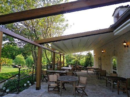 tonnelle adossee toile retractable 17 best images about pergola on terrace cuisine and image search