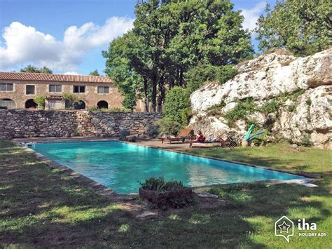 bed and breakfast in le cros in an estate iha 2215