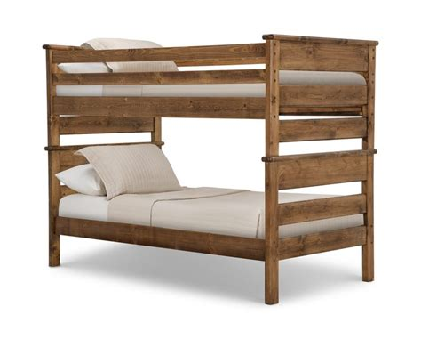 american chestnut bunk bed  beds  pinterest