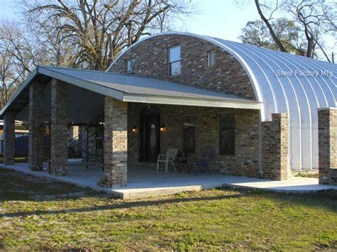 metal barn home plans quonset hut homes plans residential steel homes prefab 7447