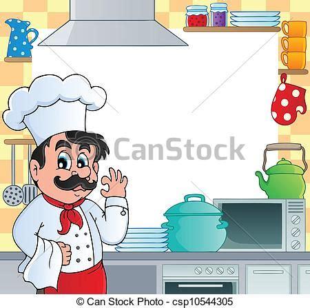 clipart cucina clipart vettoriali di cucina tema cornice 1 vettore
