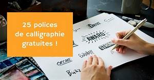 25 Belles Polices D U0026 39  U00e9criture Calligraphique  U0026 Manuscrite