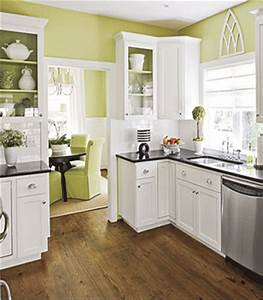 kitchen decorating ideas green paint colors and wall With kitchen colors with white cabinets with wall art home decor ideas