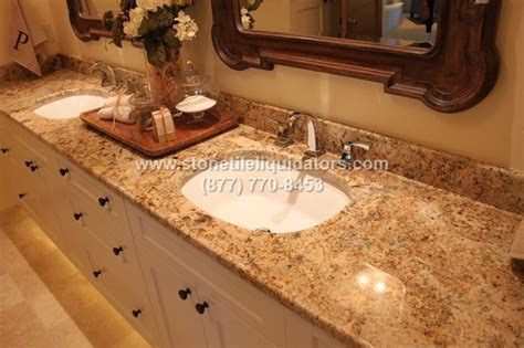 colonial gold classic cm polished granite slab