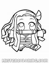 Slayer Demon Coloring Nezuko Anime Chibi Kamado Drawing Drawings Manga Yaiba Draw Kimetsu Pencil Mister Tanjiro Sketches Printable Shinobu Kpop sketch template