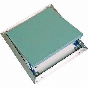 Trappe De Plafond : trappe de visite alu plaque placo ~ Premium-room.com Idées de Décoration
